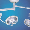 Двухкупольная бестеневая операционная галогенная лампа ALM Prismalix